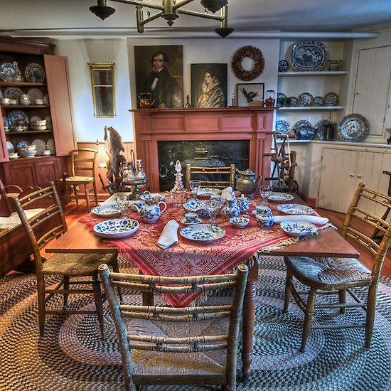 Underground Railroad Kitchen 1800s Farmhouse