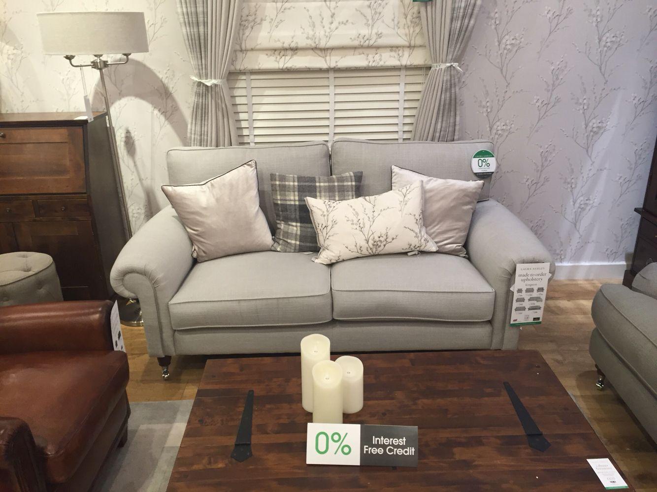 Laura Ashley Kingston Sofa Dove Grey Ashley Furniture Sofas