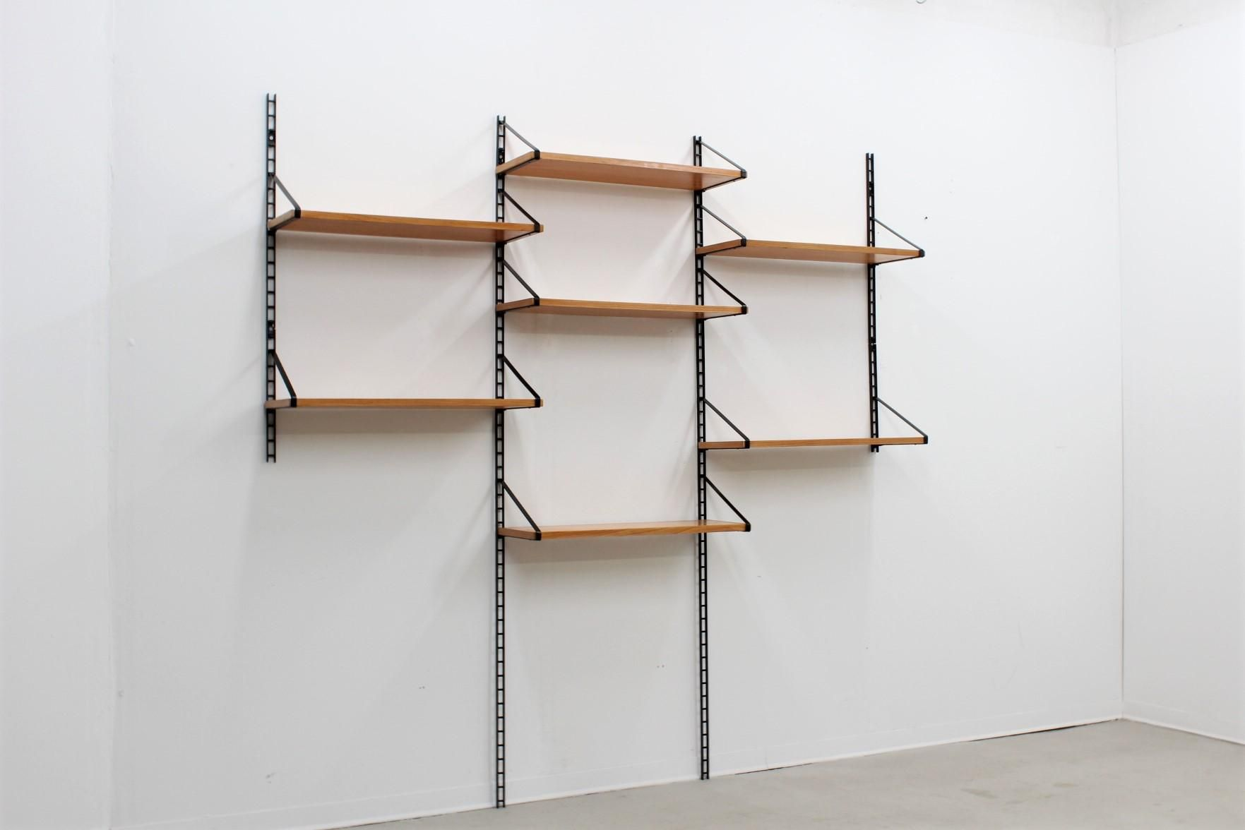Italian Modular Wall Shelves, 1950S For Sale At Pamono