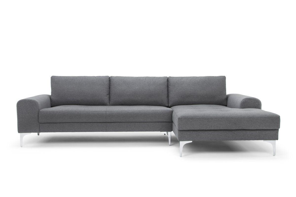 Rottman Solid Wood Frame Sectional Sofa