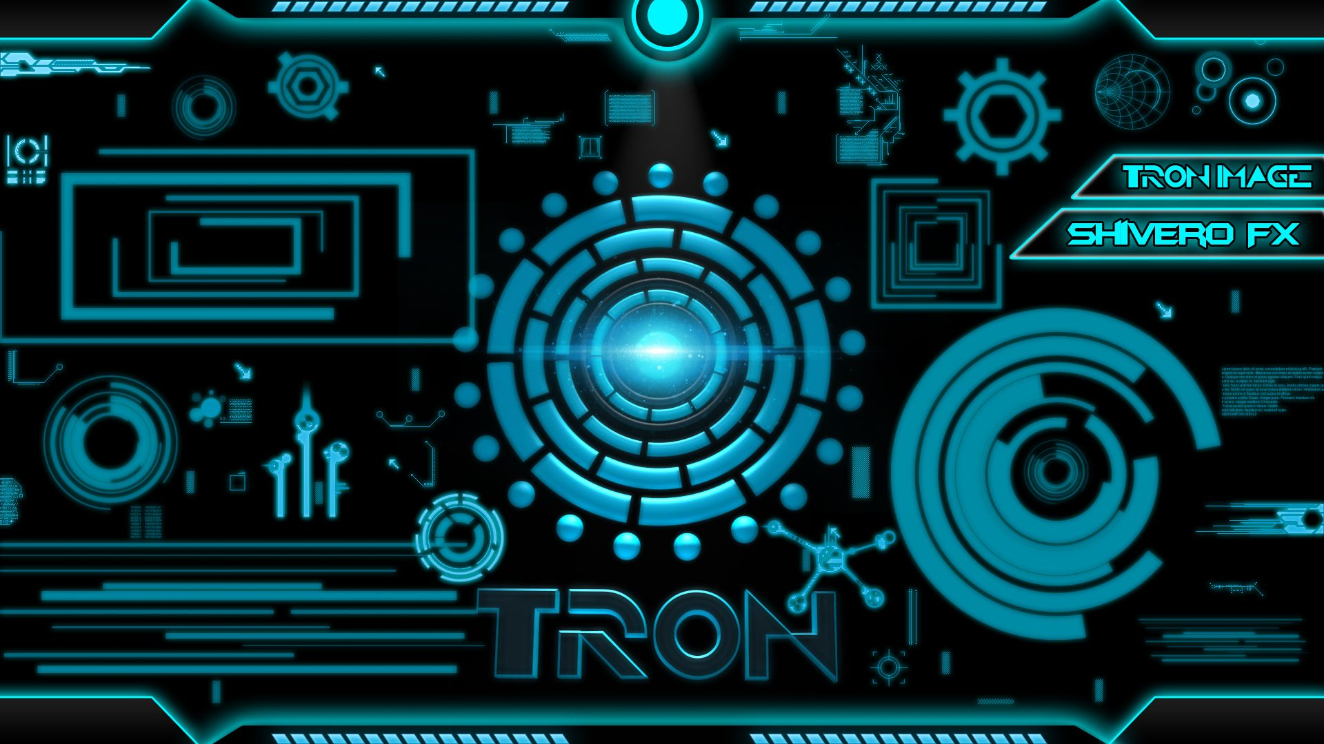 TRON WALLPAPER by SHIVEROFX by Sh1vEEER on DeviantArt