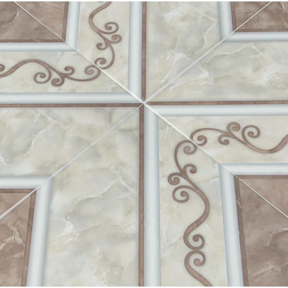 ferrara marron matte ceramic floor