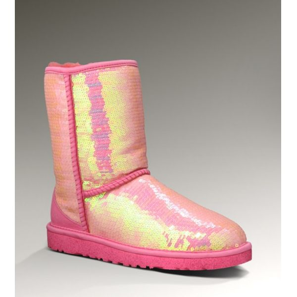 2013 Winter Promotional Red UGG Women Sparkles I Do Boots