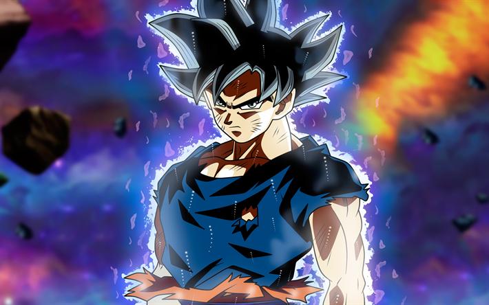 Telecharger Fonds D Ecran 4k Noir Goku Dbs Art Dragon