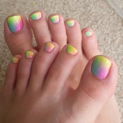 easy pedicure designs to do at home 55 cute toe nail