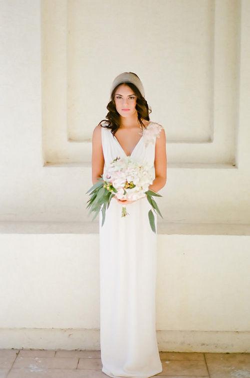 white sleeveless chiffon v-neck maxi dress