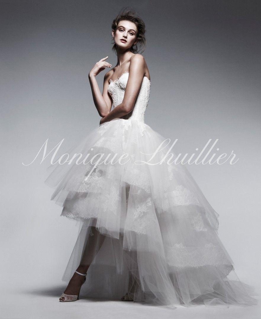 Monique Lhuillier Spring 2013 Ad Campaign - Rapture gown   2013 Ad ...