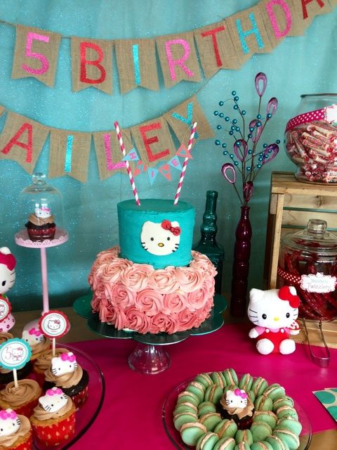 Hello Kitty Birthday Party Ideas Kitty party Hello kitty and Kitty