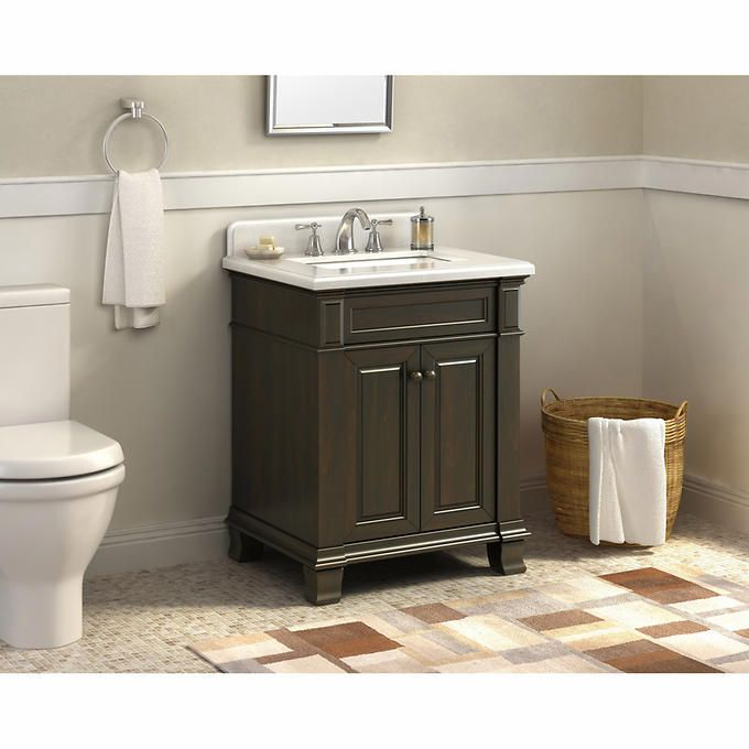 Hudson 28 Vanity By Lanza With Images Marble Vanity Tops