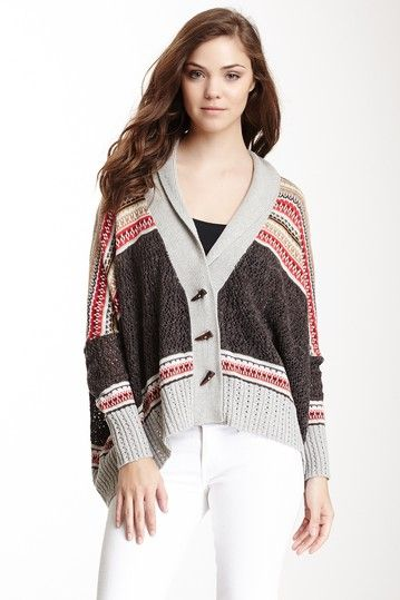 oversized fair isle sweater   My Style   Pinterest   Casual chic ...
