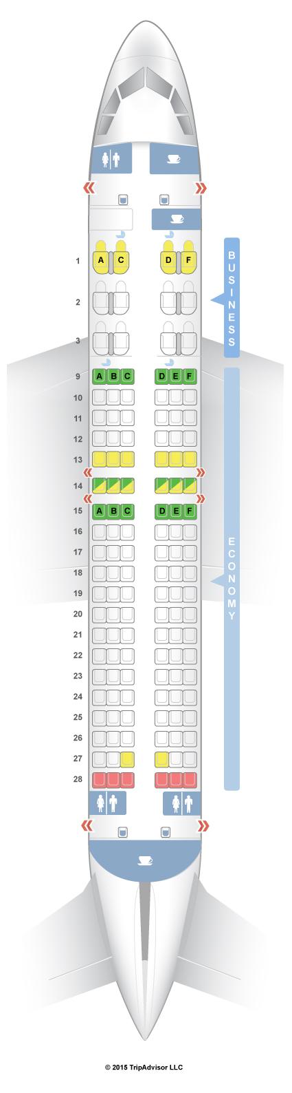 Seatguru Seat Map Qatar Airways Airbus A320 320 V2 Seatguru