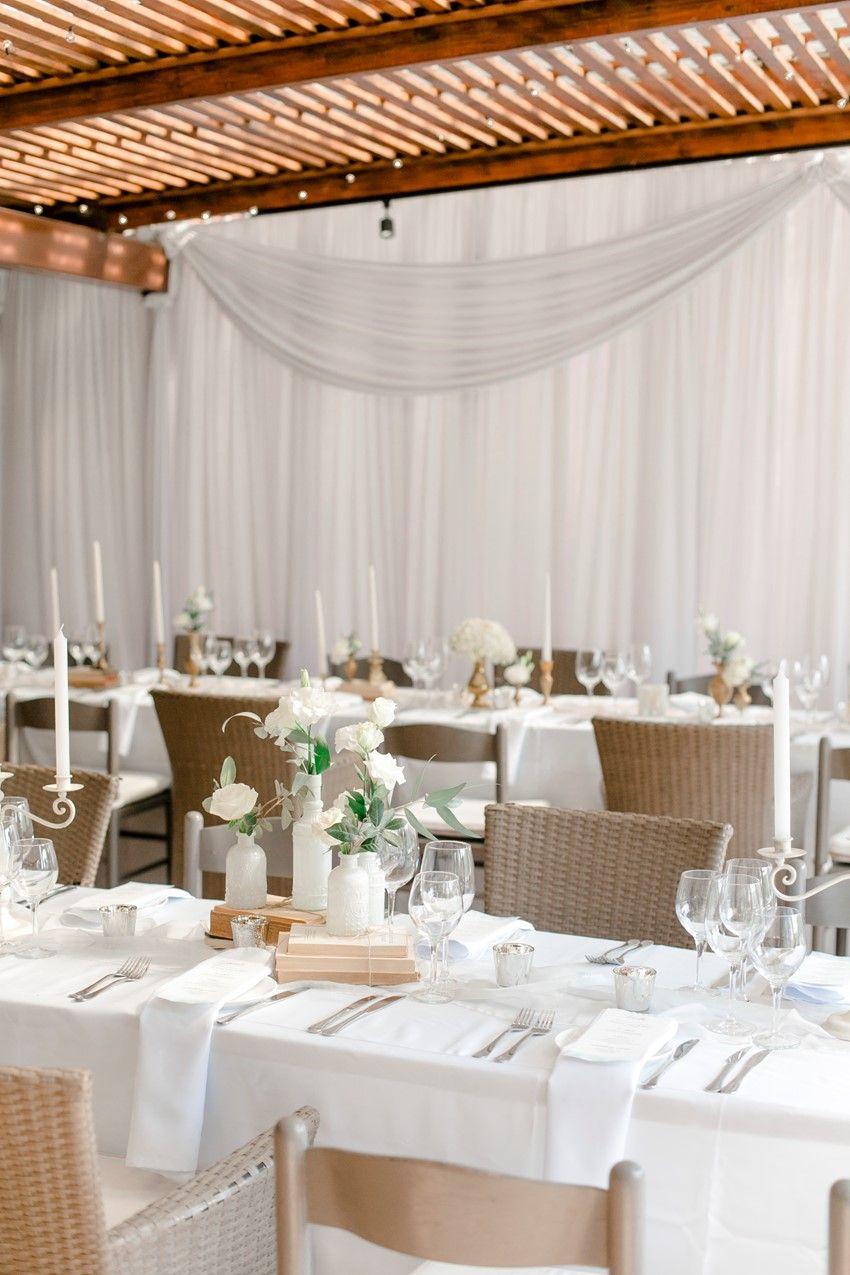 Romantic Modern Vintage Wedding Reception Decor