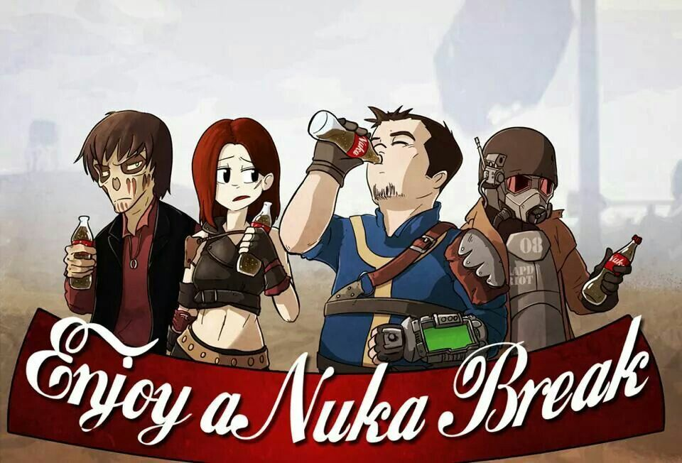 wayside creations nuka break fallout stuff pinterest nuka