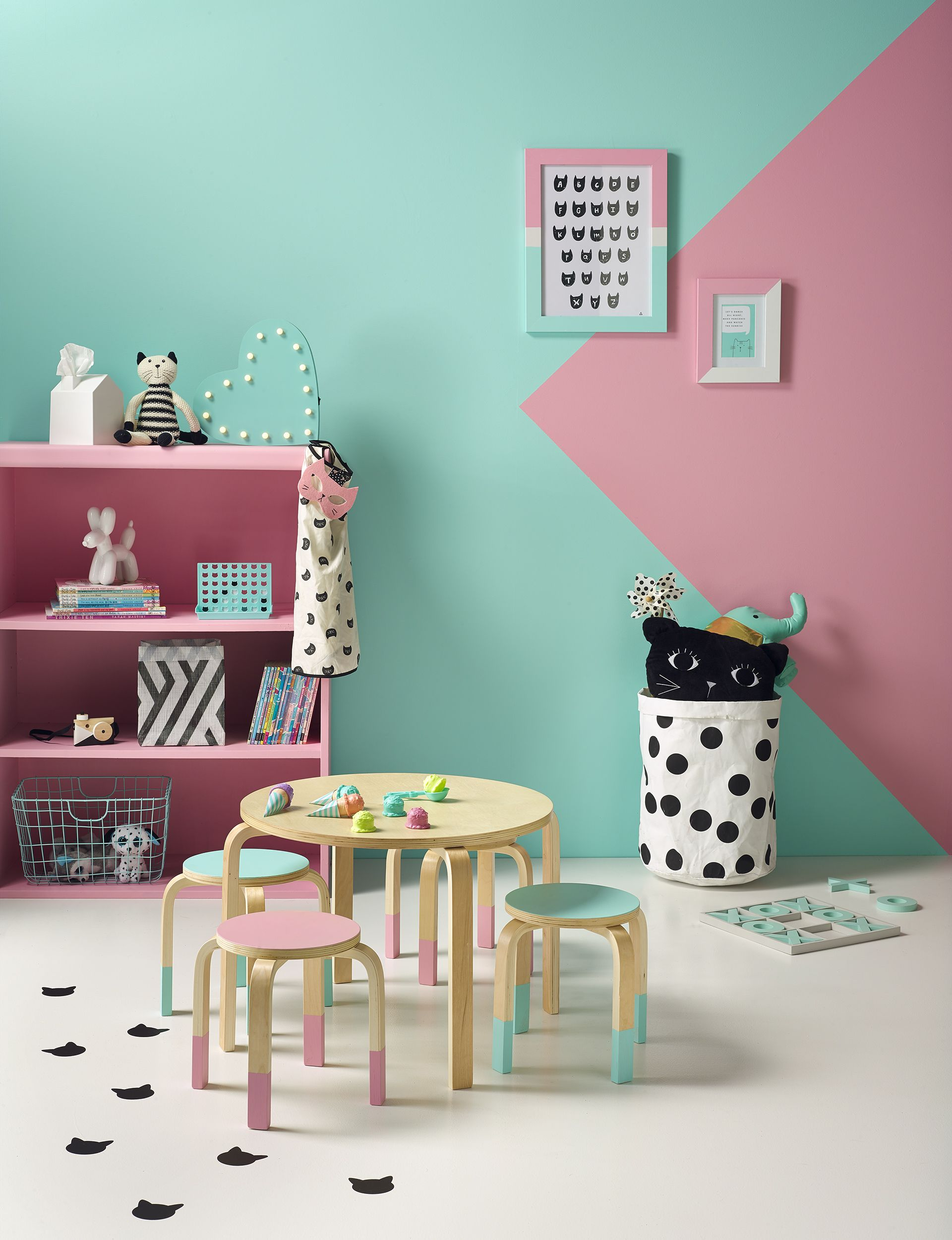 Find Out How To Recreate This Carefree, Colourful U2013 But Not Overpowering U2013  Childu0027s Play Corner With These Painting And Decorating Tips And Tricks.