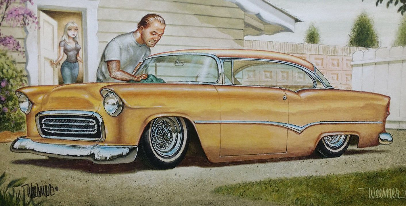 17 Best images about car art on Pinterest | Chevy, Buses and ...