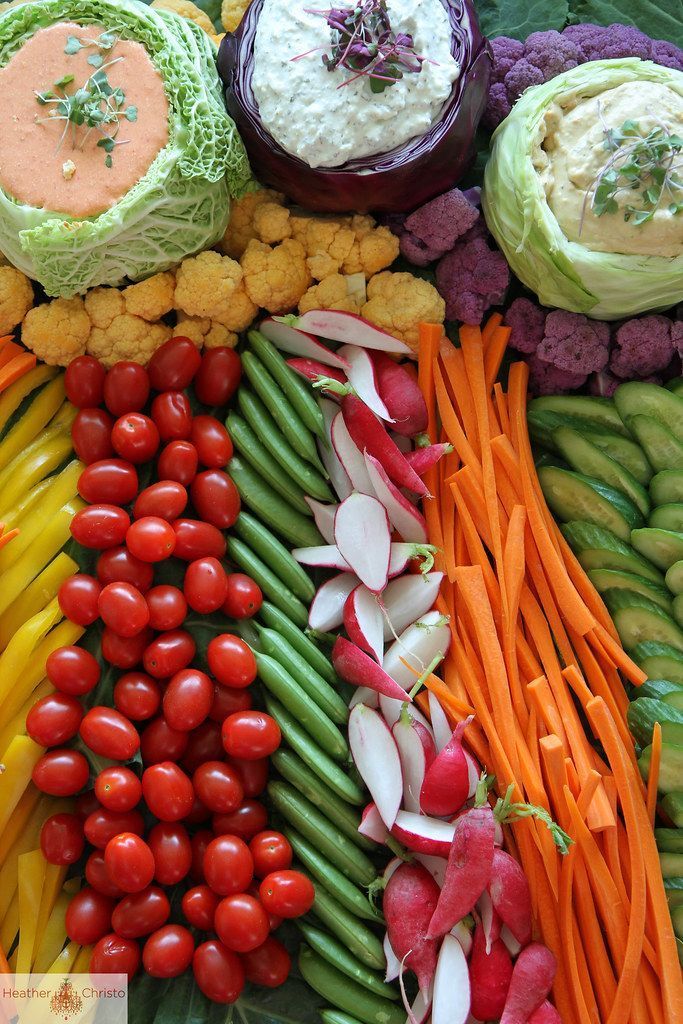 Ultimate Crudite Display #koudehapjes