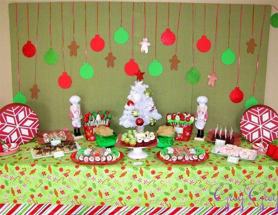 Decoração De Festa Com Tema Natal Festas Infantis De Natal