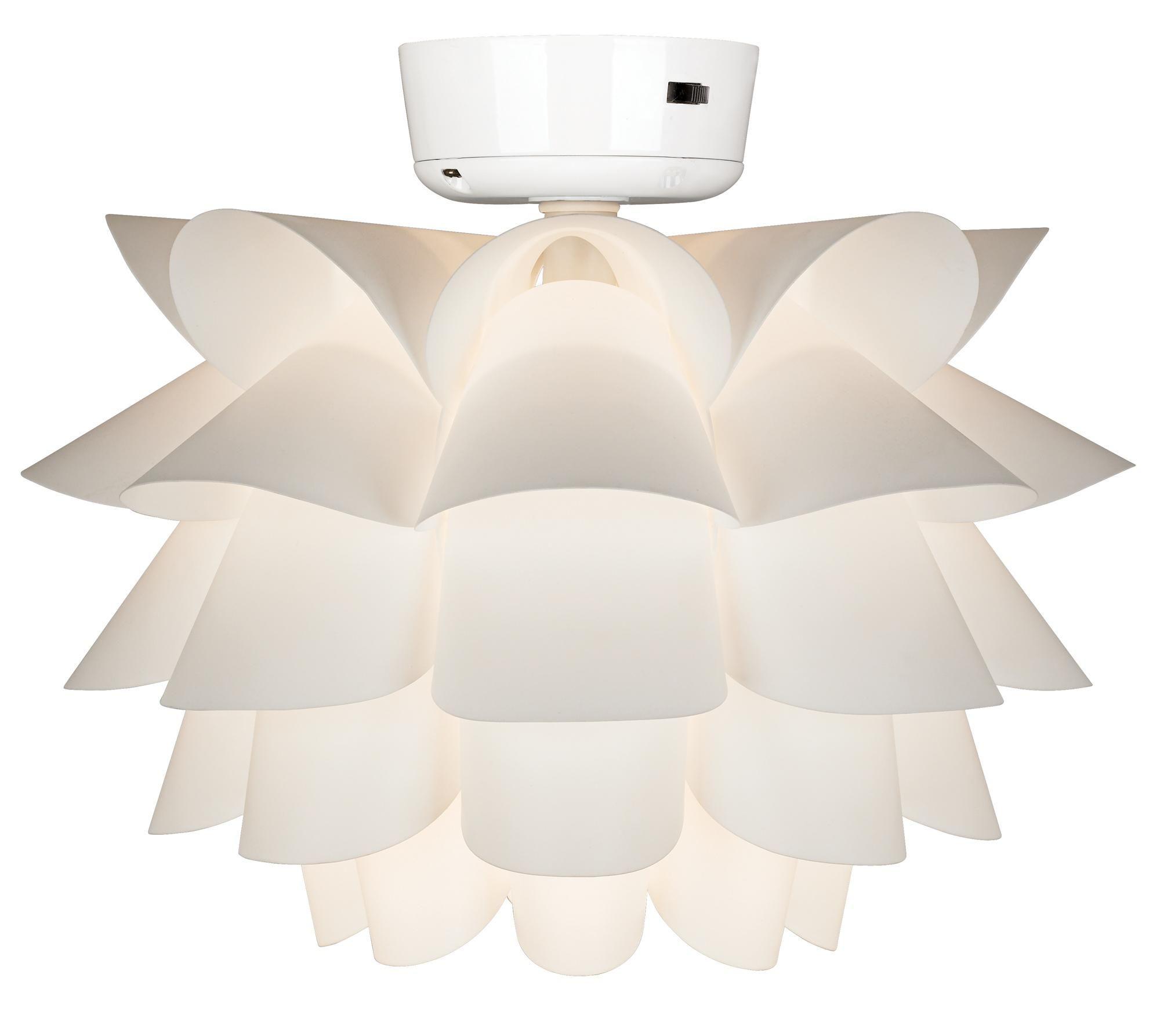 White Flower Ceiling Fan Light Kit For The Home Pinterest Fan