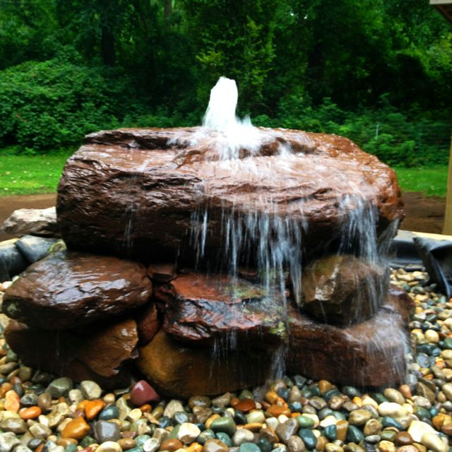 Bubbler Dry Fountain Garden Water Fountains Water Fountain Design Fountains Backyard