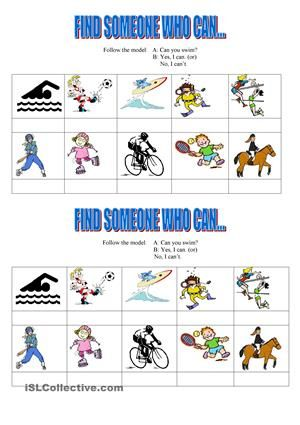 nice game about sports - ESL worksheets | sports and games ...