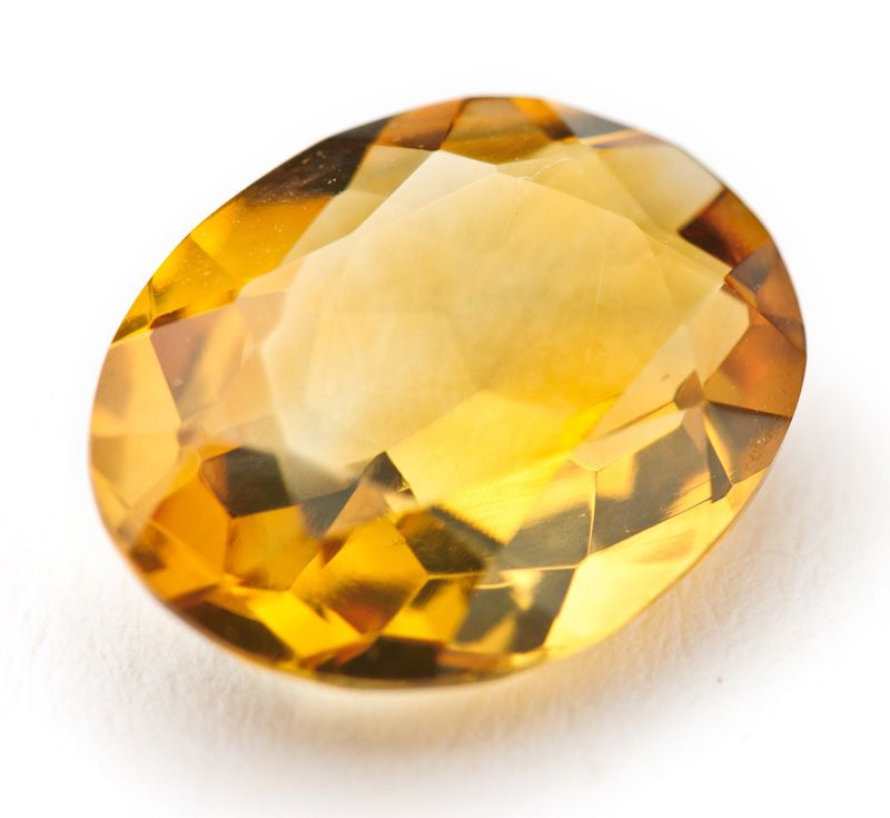 November Born Citrine Stone Of Wealth Believed To Promote