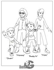 Buddyg Coloring Pages For Lesbian Families Coloring Pages Color Art