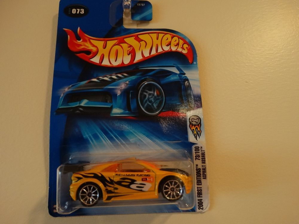 Hot Wheels 2004 First Editions Asphalt Assault Diecast Car #HotWheels