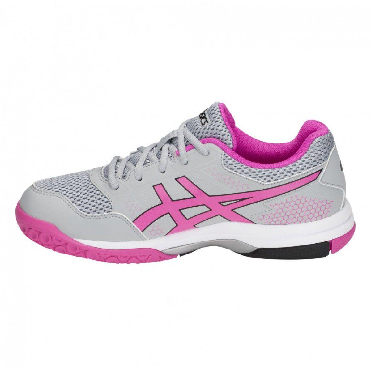 Asics Gel Rocket 8 W Volleyball Shoes B756y 020 Grey Grey Volleyball Shoes Asics Women Asics