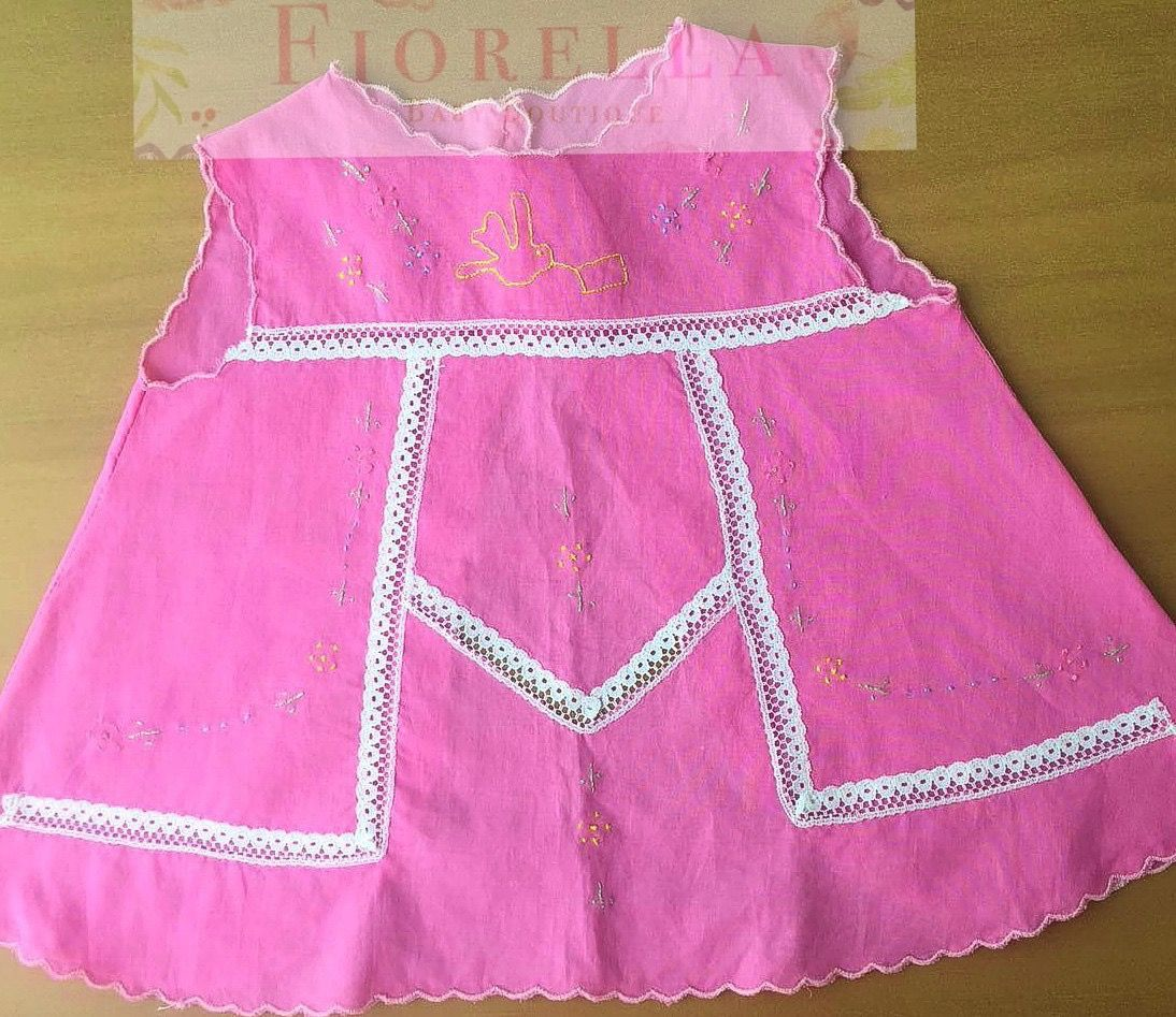 vestido de recien nacida