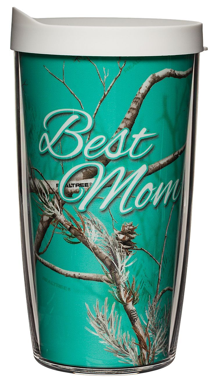 Tervis Tumbler Best Mom Insulated Wrap With Lid Camo