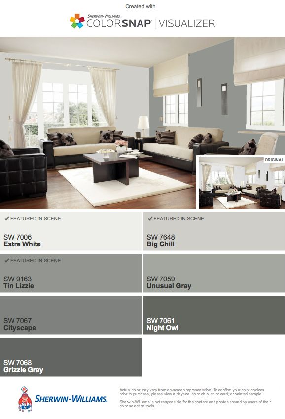 Potential Colors To Coordinate With Sw Big Chill Paint Colors