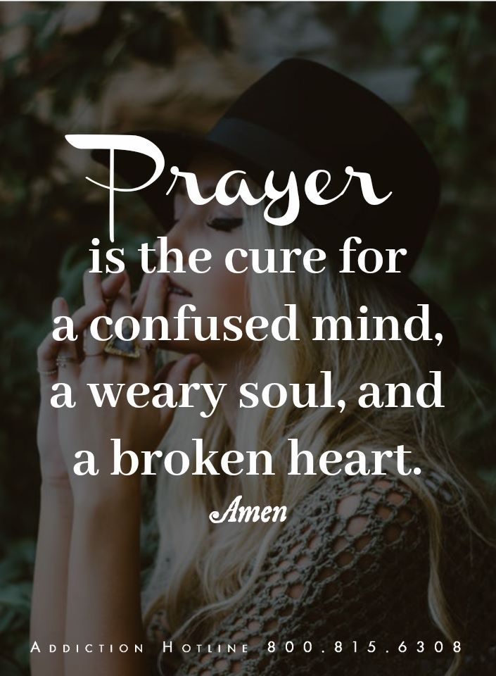 PRAYER Is The Cure For A Confused Mind Etc Quotes Pinterest Inspiration Quotes On Confused Mind