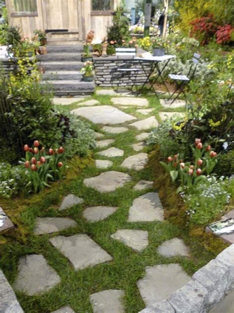 45 Best and Cheap Simple Front Yard Landscaping Ideas 33 ... on Cheap No Grass Backyard Ideas  id=94405