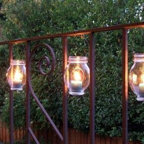 Des lampions pour les nuits d\'été | Déco récup | Pinterest | Récup ...