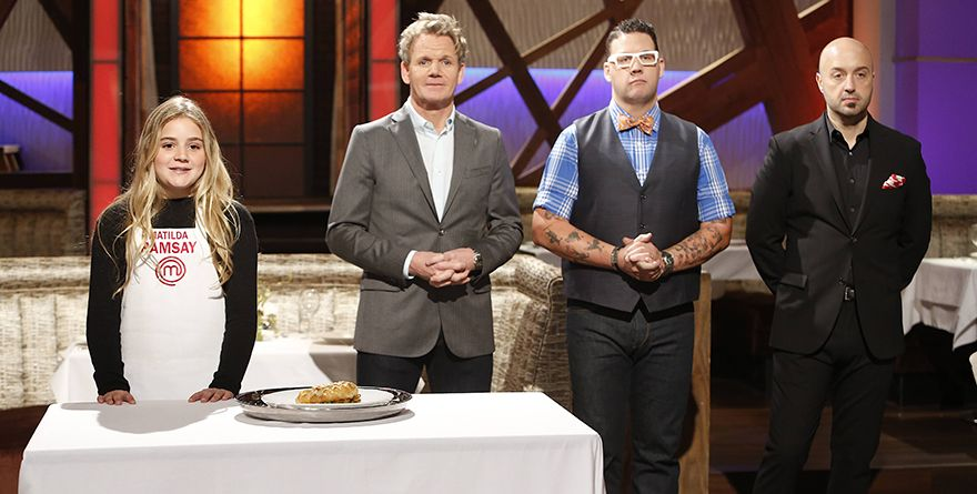 Matilda Ramsay introduces the Elimination Challenge dish: salmon en croute.