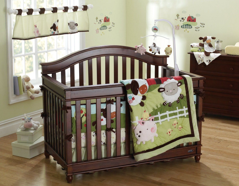 Fisher price farm friends crib bedding animal babies