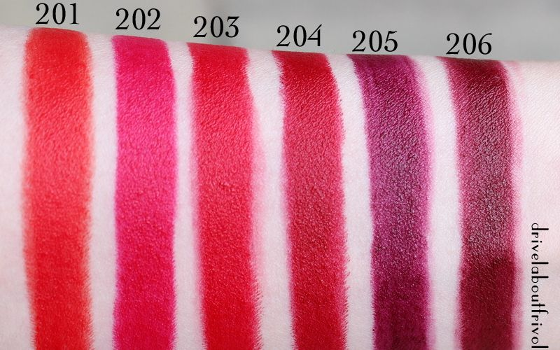 ysl rouge pur couture the mats lipstick swatches beauty pinterest mat lipstick swatch and. Black Bedroom Furniture Sets. Home Design Ideas