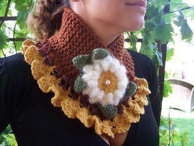 Cuellos tejidos a crochet hermosisisisisimos ! - Ixtapaluca | OLX ...