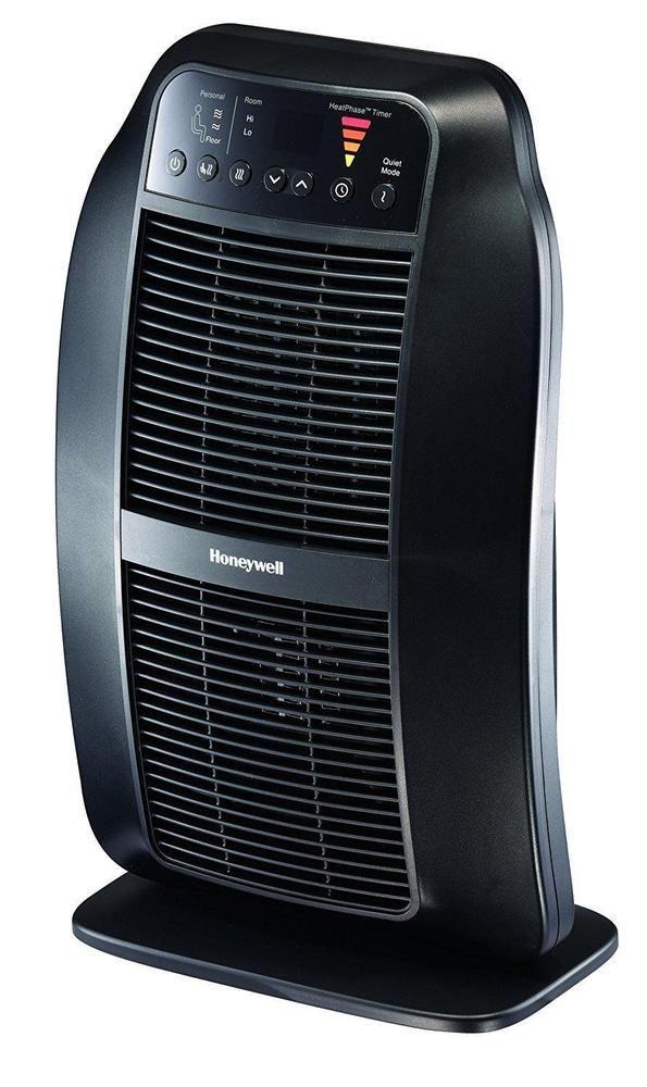 Electric Ceramic Heater For Bedroom Portable Heaters 1500 Watt 6 Heat  Settings
