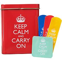 Keep Calm and Carry On Bandages I want these SOOO bad!!