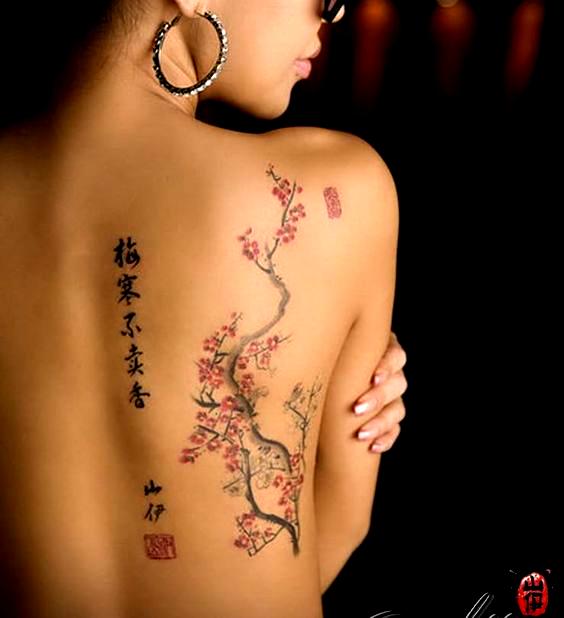 Japanese Cherry Blossom Tree Tattoo In 2020 Blossom Tree Tattoo Cherry Blossom Tree Tattoo Cherry Blossom Tattoo