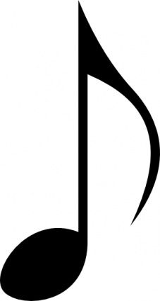 music note clip art download free music vectors christmas winter rh pinterest co uk free music notes clip art free music note clipart images