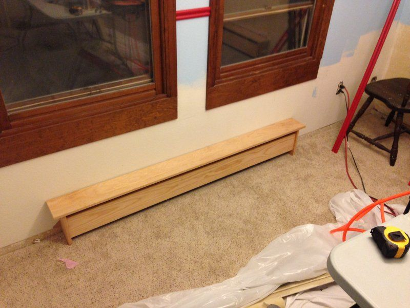 i want to build wooden baseboard covers drawbacks are metal rh pinterest com