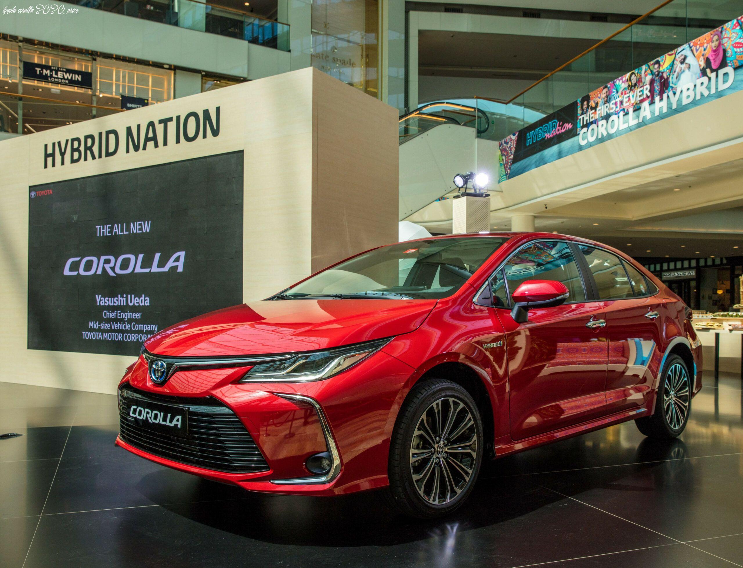 Toyota Corolla 2020 Price In 2020 Toyota Corolla Toyota Toyota New Car
