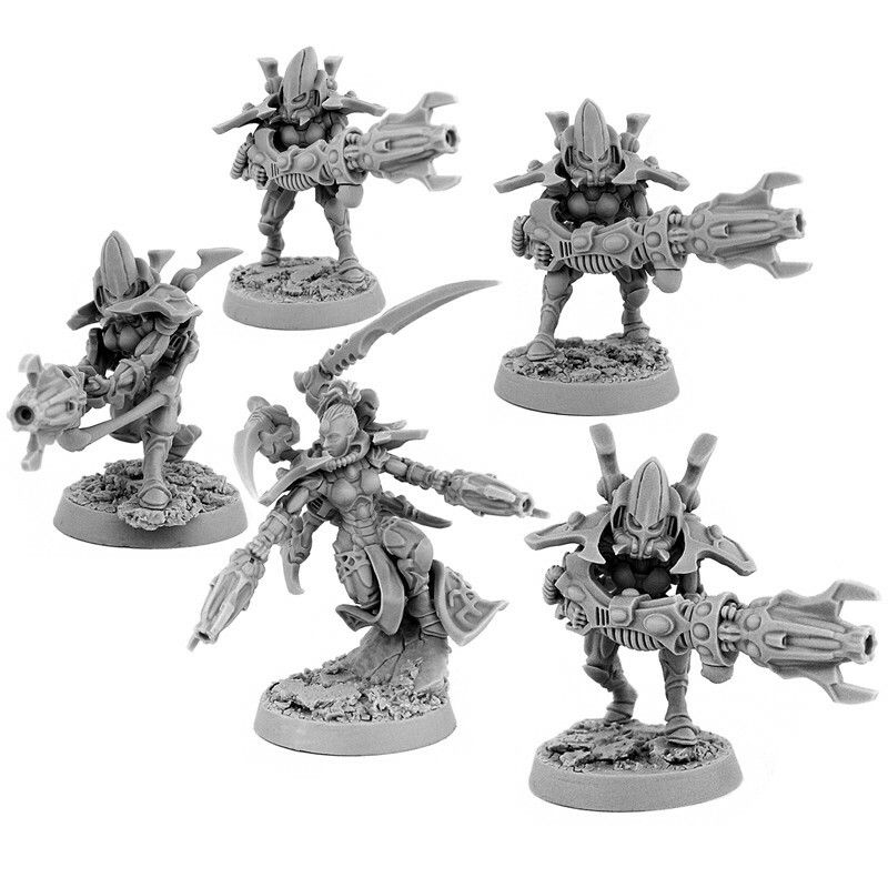Wargame Exclusive warp spiders | 3rd Party 40k bits and
