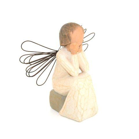Ange de l'écoute - willow tree