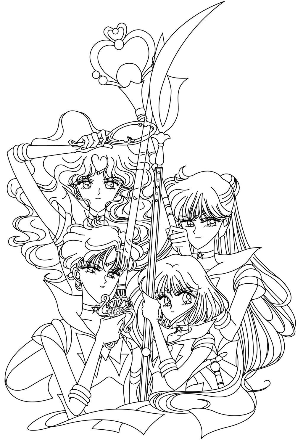 Outer Sailor Senshi Blank by sailor-jade-iris.deviantart.com on ...