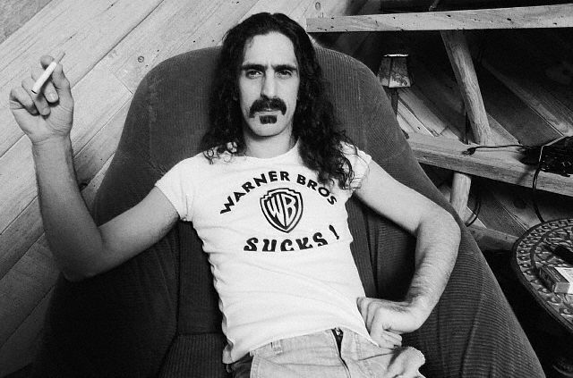 Frank Zappa thinks Warner Bros. Sucks! ca. 1979.