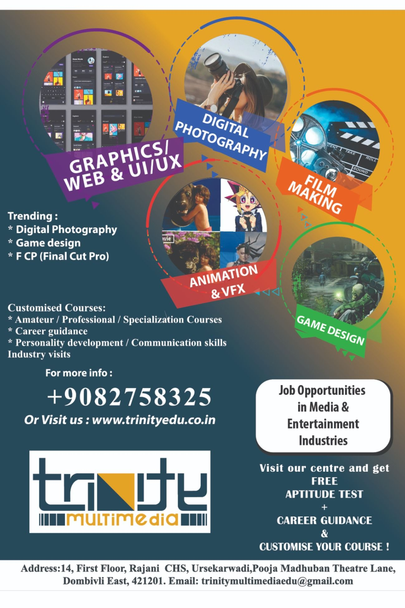 Media and Entertainment related courses in 2020