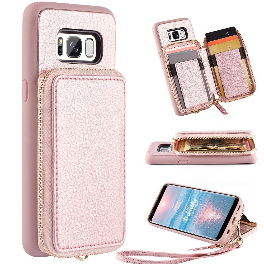 Samsung Galaxy S8 Wallet Case Galaxy S8 Case With Card